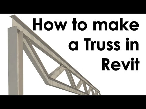 How to Create a Truss in Revit