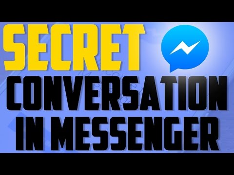 Secret Conversation And Self Disappearing Message in Facebook Messenger [How to]