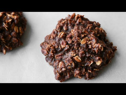 Oatmeal Cookies Recipe - CHOCOLATE & PEANUT BUTTER - Easy Healthy Breakfast Ideas