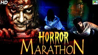 Horror Movies Marathon | New Hindi Dubbed Movies 2020 | Kaher Ek Raat, Dayen House 100