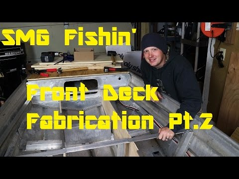 Front Deck Fabrication Pt.2 | Jon Boat to Bass Boat Conversion