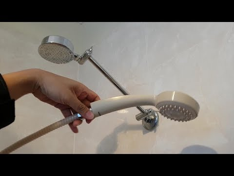 How to Convert Shower Head to a Handheld Shower Head Without Drilling