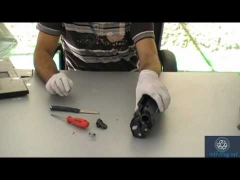 instructions on how to refill hp 2612a / canon fx 10 / canon fx 9 / canon cartridge 703