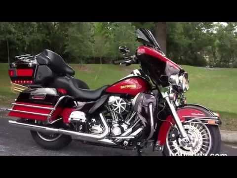 Used 2010 Harley Davidson Electra Glide Ultra Classic Motorcycles for sale in Tampa