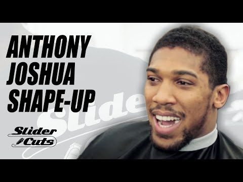 ANTHONY JOSHUA in the cut with SliderCuts