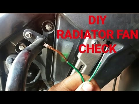 How to check radiator fan is working or not in Ns200 || As200 ||