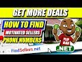 Find Motivated Sellers Phone Numbers Using Post Card and Yellow Letter Absentee Owner List