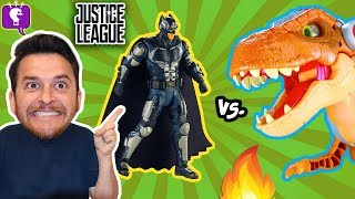 TALLEST IMAGINEXT DINOSAUR TOY! Ultimate Justice Battleground Review by HobbyGuy with HobbyKidsTV