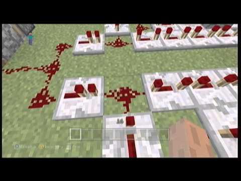 Minecraft Repeater Clock
