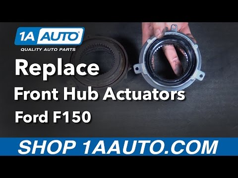 How to Replace Install Front Hub Actuator 05-13 Ford F150 Buy Quality Auto Parts from 1AAuto.com
