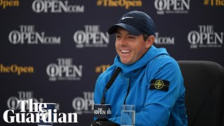 'Surreal' to be at Portrush for the Open, says Rory McIlory