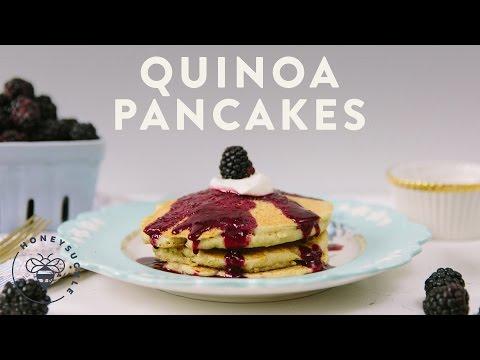 Quinoa Pancakes - Honeysuckle