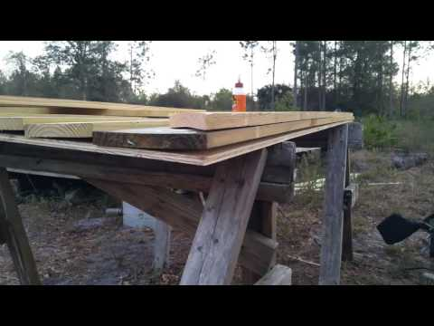 Custom 4foot Shed Door Build