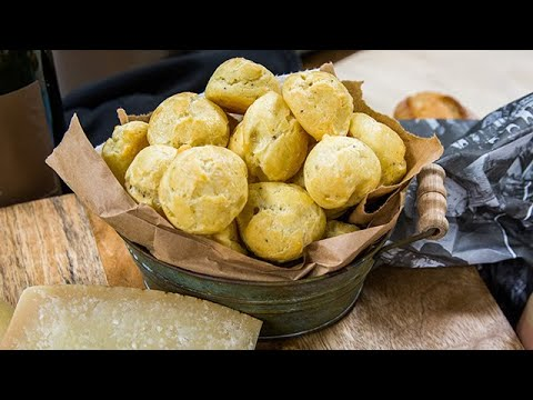 Curtis Stone's Gougeres with Comte Filling - Home & Family