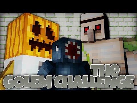 Minecraft Xbox - Golem Challenge - Like A Boss!