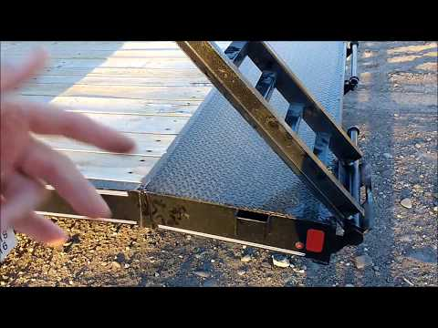 Trailer Ramp conversion: Slide-in to Folding Part 1