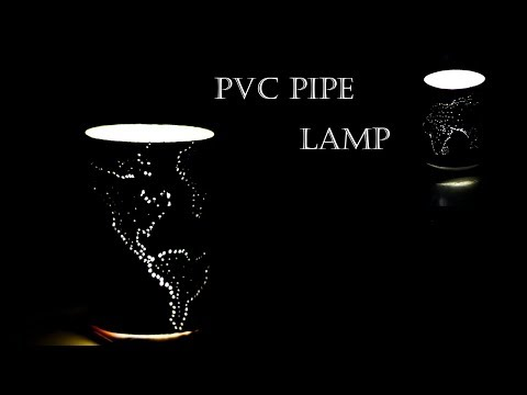 EASY PVC PIPE LAMP | HOW TO MAKE PIPE LAMP |