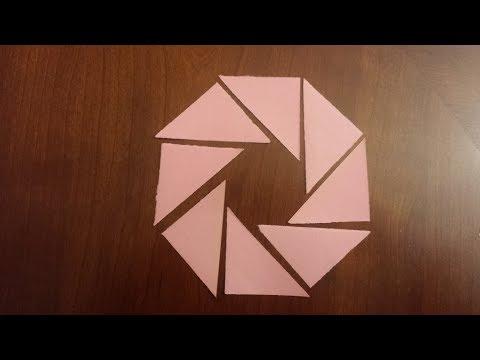 Amazing Krigami Shapes