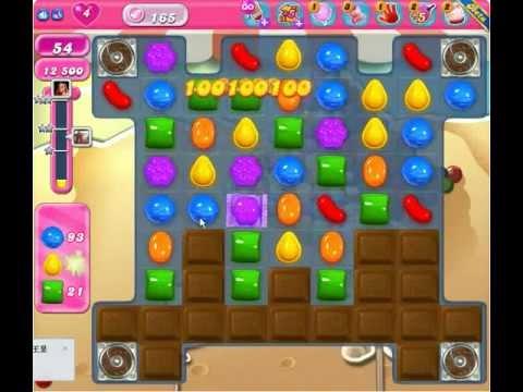Candy Crush Saga Level 165 ★★★