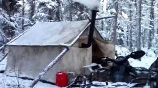 How to set up a prospector for Woods prospector tent