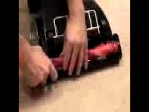 Brush belt replacement, upright vacuum cleaners