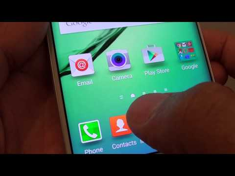 Samsung Galaxy S6 Edge: How to Set Default Home Screen Page
