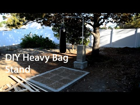 The DIY Home Show Ep2 - Heavy Bag Stand