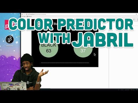 Guest Tutorial #9: Color Predictor with Jabril