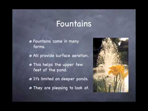 Pond Aeration Webinar - Four Powerful Benefits Of Aerating Your Pond