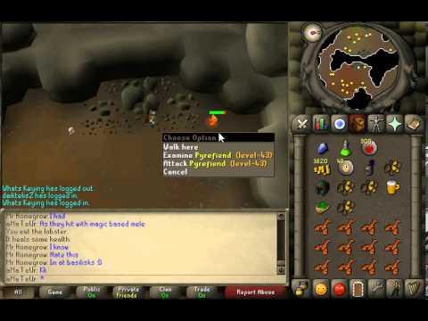 Runescape 07 safe spotting pyrefiends slayer task