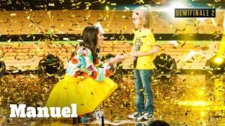 Manuel, un rumoroso Golden Buzzer