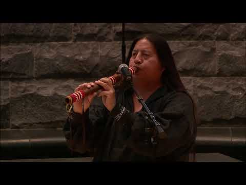 Cherokee Days 2018 - Native American Flute by Tommy Wildcat