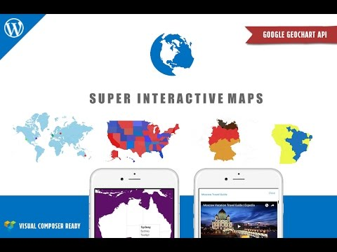 Super Interactive Maps for WordPress - Responsive SVG Maps/Google GeoChart