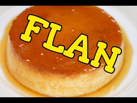 EASY Dessert: Mexican FLAN Recipe! Receta para FLAN Mexicano FACIL!