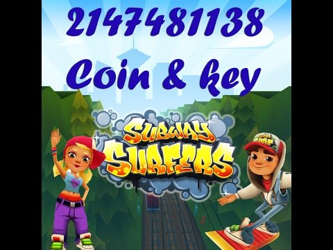 Subway surf unlimited 2147481138 coins and keys hack