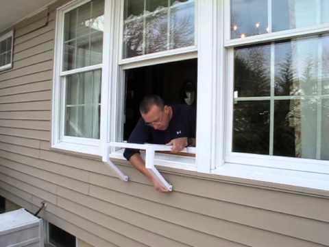 Window AC Bracket Installation Video