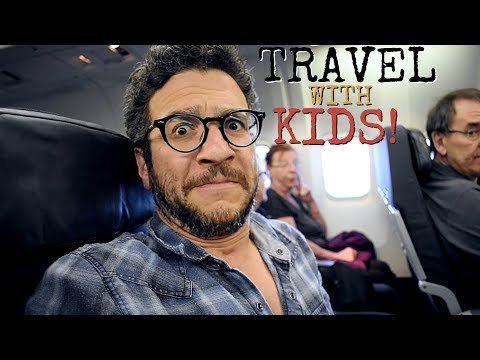 Travelling With Kids... SPOILER ALERT: IT'S NOT EASY!!!