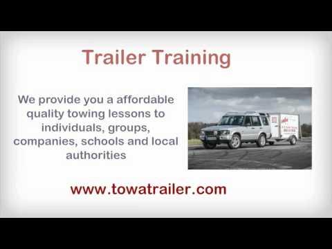 Tow a Trailer Training