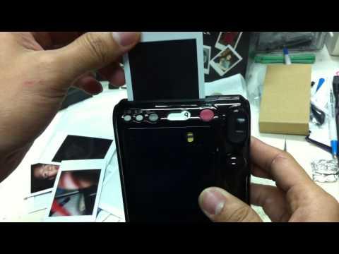 Fuji Instax Mini 50s Camera film struck [By PassionGadgets.com]