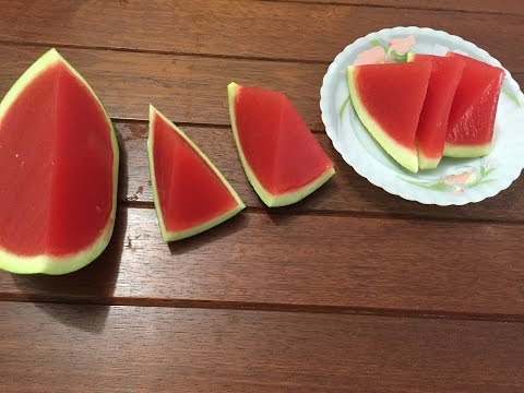 How Make Jelly Watermelon Mold