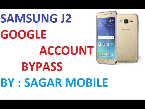 Samsung J2 Google Account Unlock