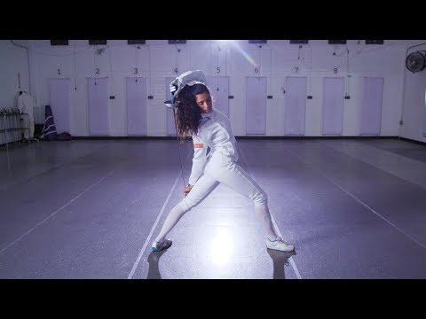 "Fencer Natalie Vie on Her Latina ""Hair-itage"""