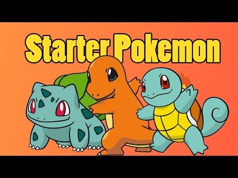 Pokemon Red/Blue Guide | Pokemon | Charmander, Squirtle & Bulbasaur