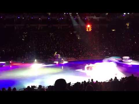 Disney on ice in oracle arena Oakland ca