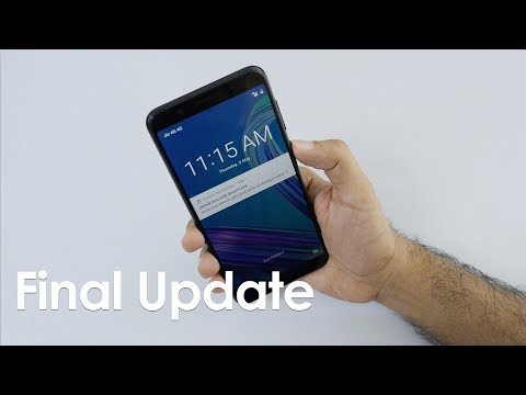 Final Software Update to Zenfone Max Pro Before Sale