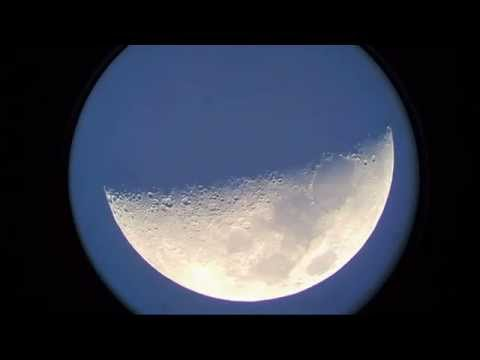 250mm Big Binocular Observation moon 01