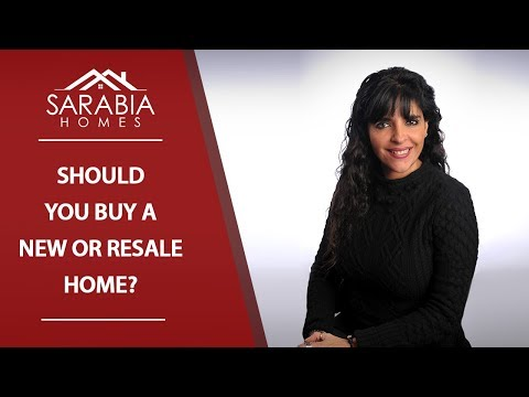 Texas Real Estate Agent: Buying a Resale Home vs. A Newly Constructed Home