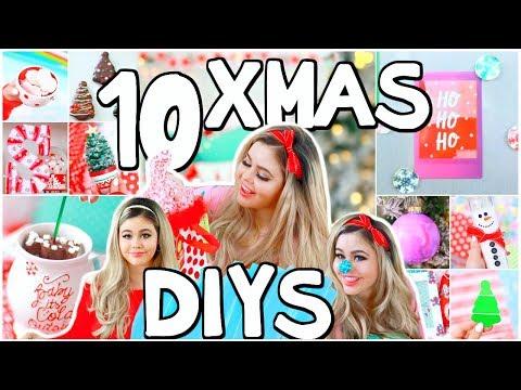 10 Christmas DIYs, Gifts Ideas & Crafts!