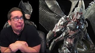 Batman Tactical Suit and Parademon Early Concept Art for justice League Revealed