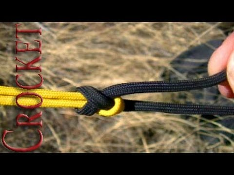 Sheet Bend How to Tie (joining two ropes)